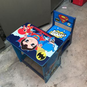 Toddler Wood Desk And Chair for Sale in Chino, CA