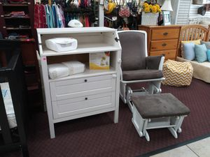 Changing Table $69.99... Can be used microwave stand or anything else!! for Sale in Upland, CA