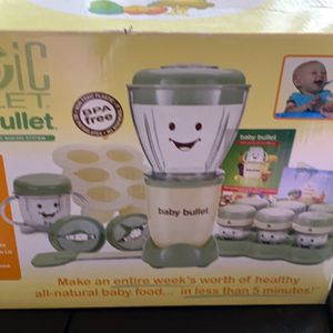 Magic Bullet Baby Bullet for Sale in Broadview, IL