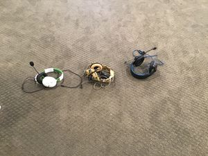 Venom, turtle beach, and king paradise gaming headset( Noise cancellation in one of them and led lights) for Sale in South Brunswick Township, NJ