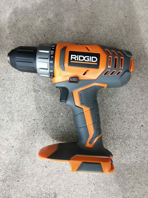 DRILL RIDGID BATTERY NOT INCLUDED for Sale in Phoenix, AZ