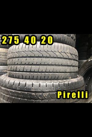 275 40 20 PIRELLI PZERO all season SINGLE TIRE ONLY EXCELLENT TREAD for Sale in Greer, SC