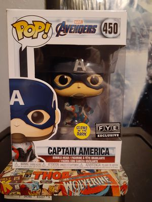 FUNKO POP CAPTAIN AMERICA GITD🔥🔥 for Sale in Miami, FL