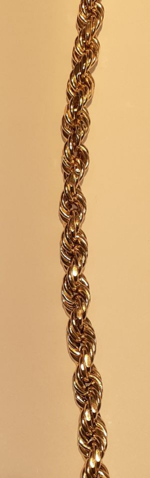 Mens rope chain 10k for Sale in Orlando, FL