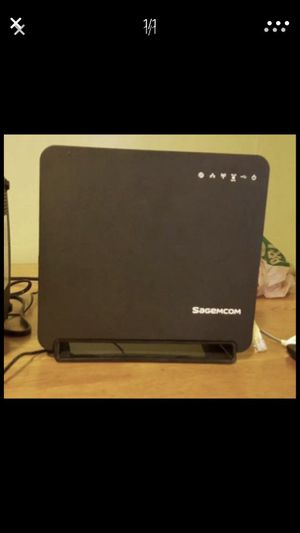Sagemcom Witeless Highspeed router for Sale in Overland, MO