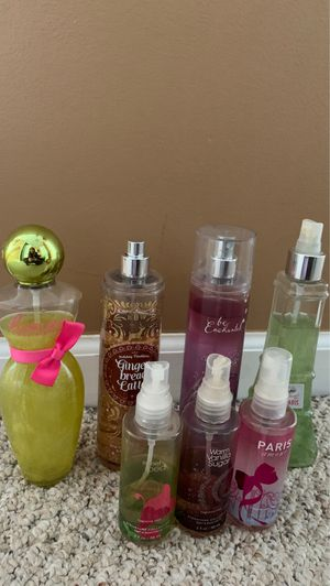 Bundle of Bath and Body works body spray for Sale in Lake in the Hills, IL