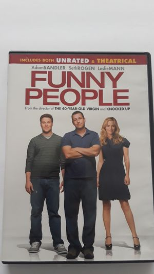 DVD'S- Funny People & I now pronounce you CHUCK & LARRY for Sale in Fort Lauderdale, FL