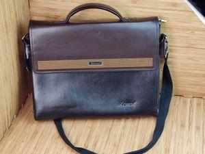 Kenox Vintage Pu Leather Men's Briefcase Laptop Bag Messenger Handbag Brown for Sale in Tampa, FL