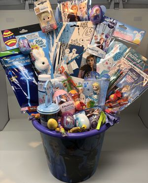 Disney Frozen Easter Basket for Sale in Baltimore, MD