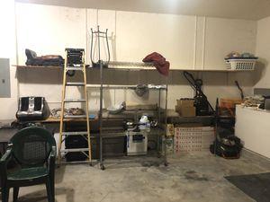 5 garage shelf rack with mounting brackets for Sale in Pembroke Pines, FL