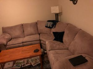Ashley's Sectional w/ Recliner for Sale in Germantown, MD