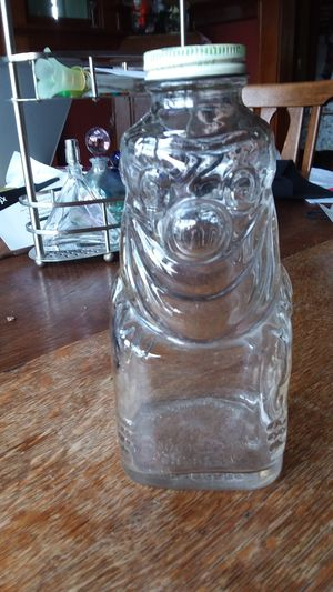 Antique glass jar/bank for Sale in Portland, OR