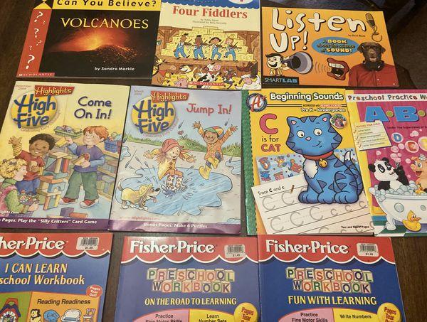 Preschool Kindergarten Learning Workbooks , Magazines & Books
