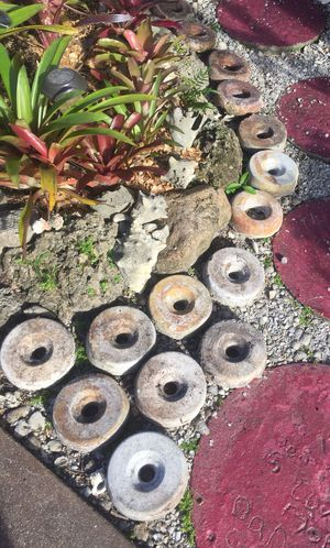 Concrete Donuts For Sprinklers (.50 Each) for Sale in Hollywood, FL