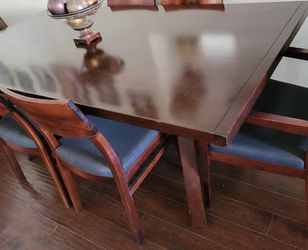Dining table with six chairs for Sale in North Las Vegas,  NV