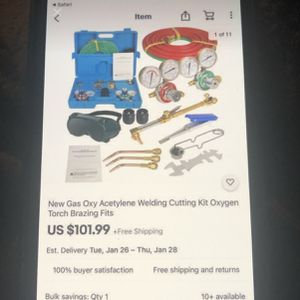 Welding Cutting Kit for Sale in Manteca, CA