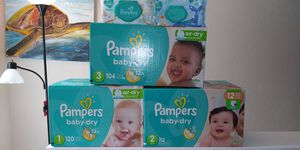 Baby Diapers and Wipes for Sale in Midway, FL