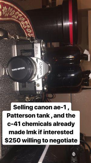 Canon ae-1 for Sale in Dallas, TX