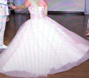 Quinceañera blush dress size M-L for Sale in Winter Haven, FL