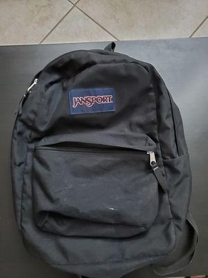 JanSport Backpack. Black for Sale in Fort Lauderdale, FL