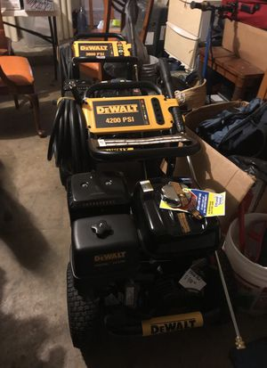 Dewalt pressure washer 4200psi honda hex for Sale in Orlando, FL