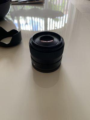 Sony e-mount 1.8/35 prime lens for Sale in Miami, FL