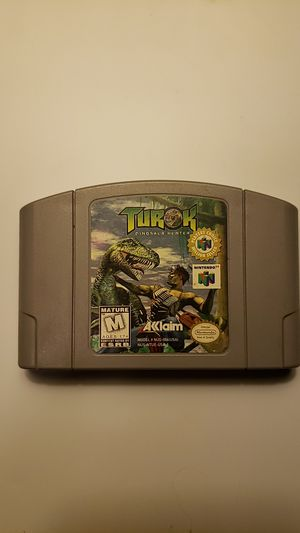 TUROK for the N64 for Sale in Hartland, ME