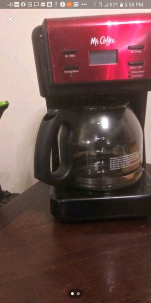 Mr. Coffee coffee pot for Sale in Elyria, OH