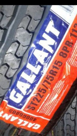 2] NEW TRAILER TIRES ST 225/75R15 8PLY for Sale in Los Angeles, CA