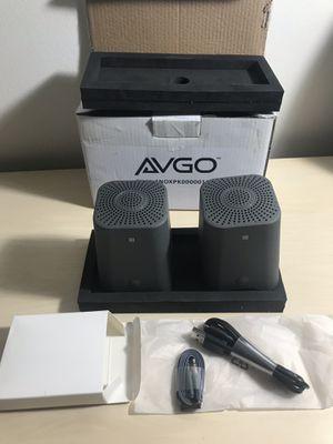 AVGO Eiffel Bluetooth TWS Portable Speakers Pair for Sale in Minneapolis, MN