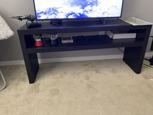 TV stand, brown. Like new. for Sale in Orlando, FL
