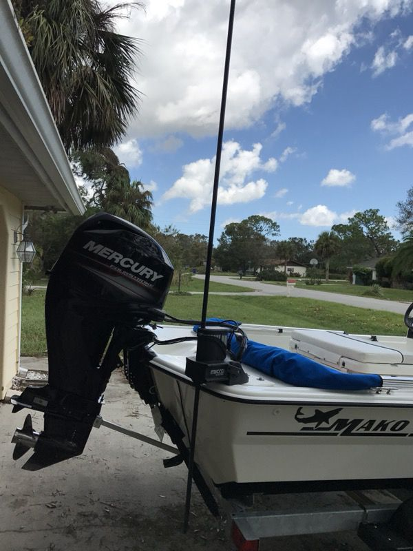17 ft Mako Pro Skiff - 60 HP 4 stroke Mercury for Sale in Vero Beach, FL -  OfferUp