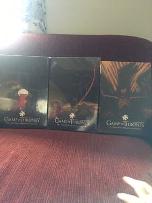 Game of Thrones puzzles for Sale in Deerfield, MA