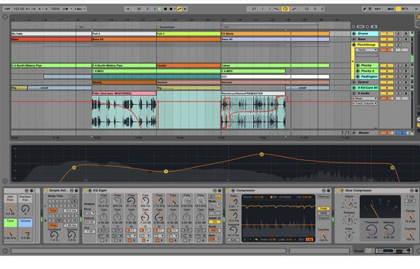 Music production softwares/plugins