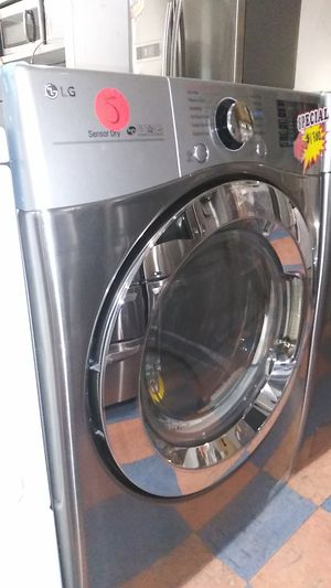 New LG Gravity Steel Washer and Dryer for Sale in Corona, CA