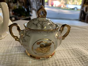 Antique Stirling China sugar bowl for Sale in Corbett, OR