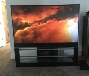 "Toshiba 65"" HD TV with stand for Sale in Gig Harbor, WA"