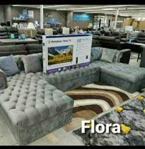 JACOB SECTIONAL RECLINING SET $1549 Promo free TV 📺 1899 for Sale in Houston, TX