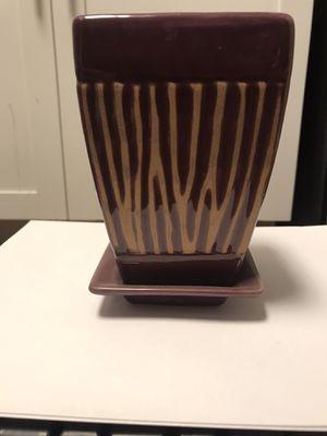 Vinthae Purple Ceramic Potting Vase for Sale in San Diego, CA