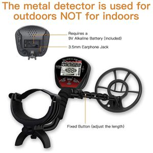 New DR.ÖTEK Lightweight Metal Detector for Adults and Kids, Multi-Function with Pinpointer, Big Waterproof Coil for Greater Depth with Backlit LCD, In for Sale in Norwalk, CA