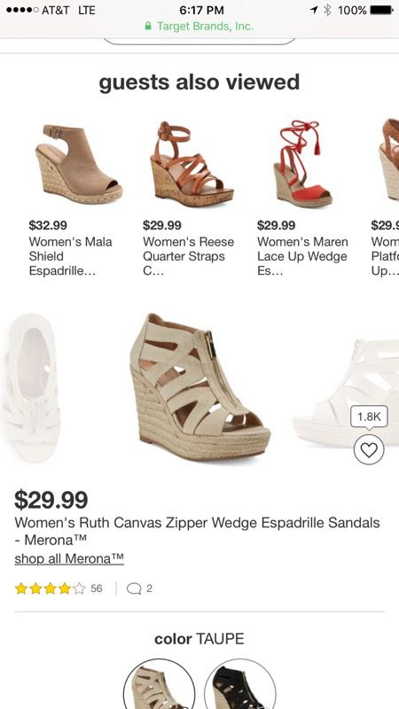 f9abd55208e Size 10 - Women s Ruth Canvas Zipper Wedge Espadrille Sandals ...