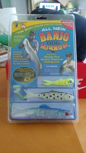 Banjo Minnow fishing tackle brand new for Sale in Dallas, TX