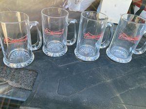 Budweiser Beer glasses for Sale in San Antonio, TX