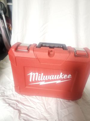 Milwaukee drill set box/ box only for Sale in Torrance, CA
