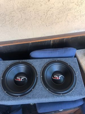 """2-15""""Rockfosgate punch new box very good speakers at Testa before you buy $250 for Sale in Fremont, CA"""