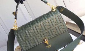 FENDI GREEN LEATHER IAM BAG SMALL for Sale in Clifton, NJ