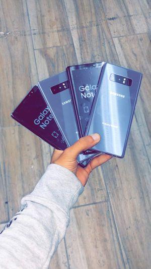 Samsung Galaxy Note 8 Factory Unlocked (T-Mobile, AT&T, Verizon, Cricket, MetroPCS!) - International Like New Starting @) for Sale in Arlington, TX