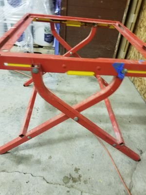 Bosch Table saw Stand (folds Down) for Sale in Columbus, OH