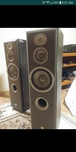 Audiophile JBL E60 Floor standing speakers Northridge for Sale in Tacoma, WA