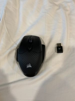 Corsair Dark Core RGB Wireless Gaming mouse included charger for Sale in Bloomfield Hills, MI